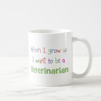 When I Grow Up Veterinarian Classic White Coffee Mug