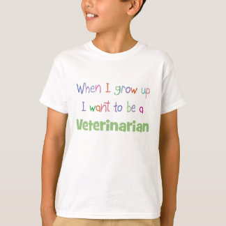 When I Grow Up Veterinarian T-Shirt