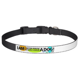 When I Have A Dog Personalize It! Large Pet Collar