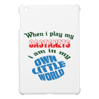 When I Play My Castanets. iPad Mini Cover