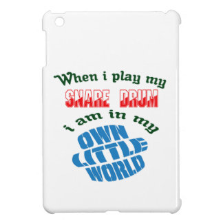 When I Play My Snare Drum. iPad Mini Case