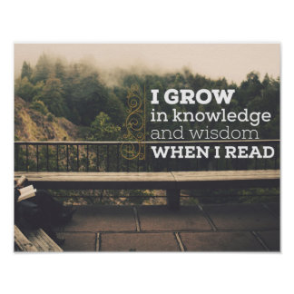 When I Read by Inspirational Downloads Poster