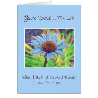 """When I Think of the Word """"Friend..."""" Card"""