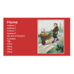 When I was a bachelor I lived by myself Business Card Template