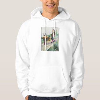 When I was a bachelor I lived by myself Hoodie