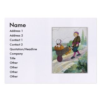 When I was a bachelor I lived by myself Large Business Cards (Pack Of 100)
