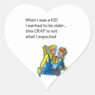 When I Was A Kid Sticker