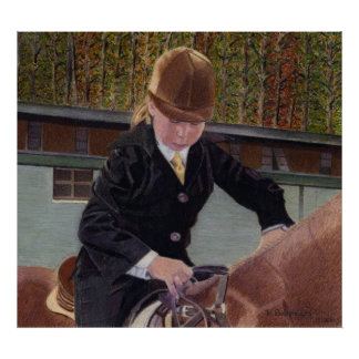 When I Was Young - Horse Art Poster