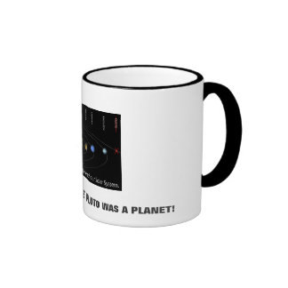 WHEN I WAS YOUR AGE PLUTO WAS A PLANET! MUG