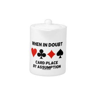 When In Doubt Card Place By Assumption (Bridge)