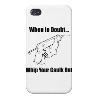 When In Doubt... Case For iPhone 4