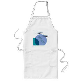 """""""When in doubt CREATE"""" Long Chef's Apron"""