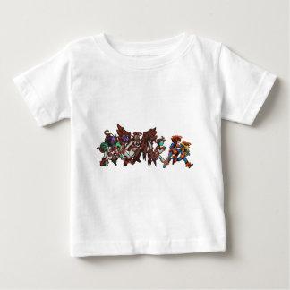 """When in Doubt, Run!"" Baby's Shirt"