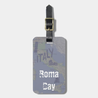 When in Rome Bag Tag