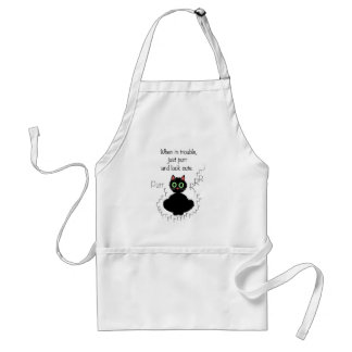 When in Trouble Adult Apron