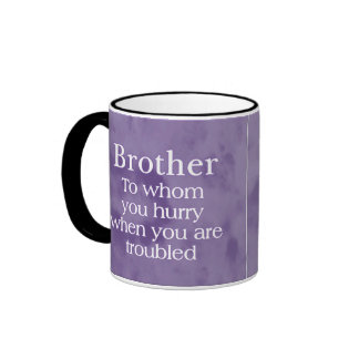 When in Trouble Brother Mugs