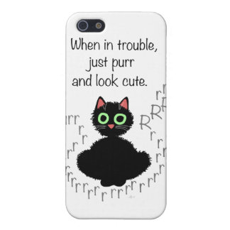 When in Trouble Cover For iPhone SE/5/5s