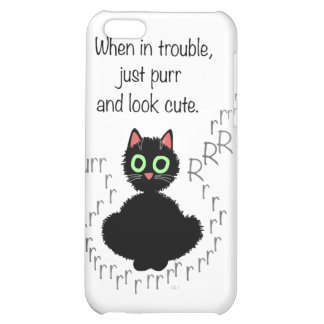 When in Trouble Cover For iPhone 5C