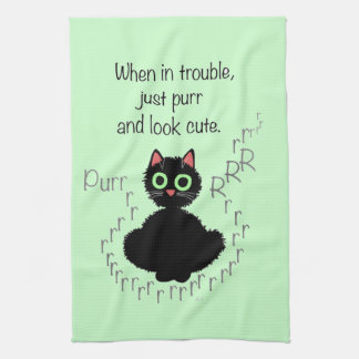 When in Trouble Kitchen Towel