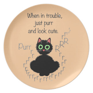 When in Trouble Plate