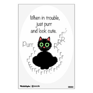 When in Trouble Wall Decal
