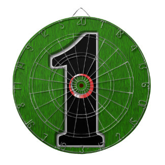 When is Tee Time? Dartboard With Darts