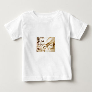 When Jesus extended its hand Baby T-Shirt