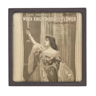 When Knighthood Was In Flower Premium Keepsake Boxes