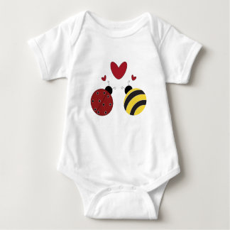 When lady met bumble... baby bodysuit