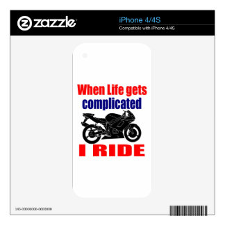 when life gets complicated decals for the iPhone 4
