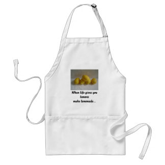 When life gives ... adult apron