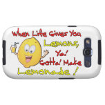 When Life Gives Ya' Lemons Samsung Galaxy SIII Covers