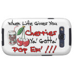 When Life Gives You Cherries Galaxy S3 Cases