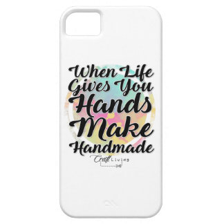 When Life Gives You Hands, Make Handmade iPhone SE/5/5s Case