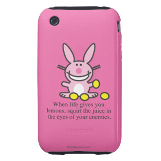 When Life Gives You Lemons Tough iPhone 3 Covers