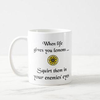 When Life Gives You Lemons Coffee Mug