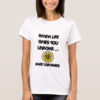 WHEN LIFE GIVES YOU LEMONS FITTED TOP