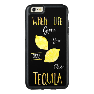 When life gives you lemons grab the tequila OtterBox iPhone 6/6s plus case