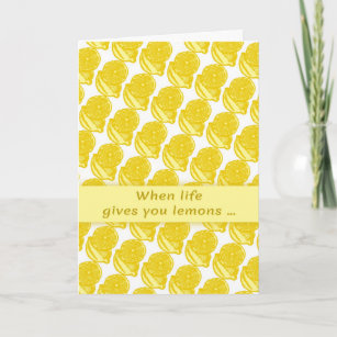 When life gives you lemons cards zazzle when life gives you lemons greeting card m4hsunfo