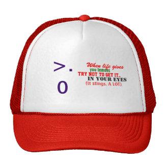 When life gives you lemons trucker hat