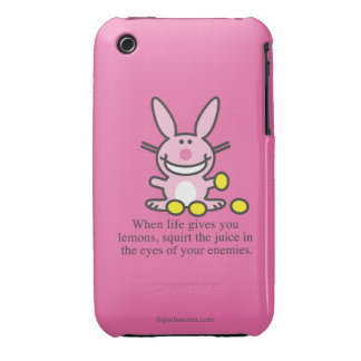 When Life Gives You Lemons iPhone 3 Cover