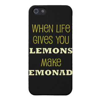 When life Gives You Lemons iPhone 5 Covers
