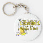 when life gives you lemons key chains