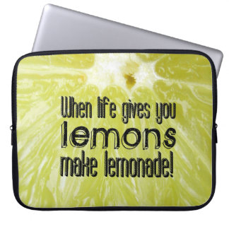 When life gives you lemons computer sleeves