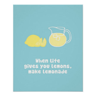Lemonade Posters | Zazzle