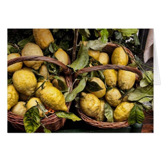 When Life Gives You Lemons, Make Limoncello Card