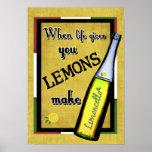 When Life Gives You Lemons Make Limoncello Poster