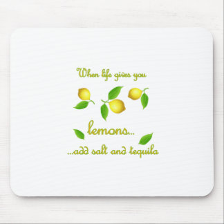 When life gives you lemons mouse pad