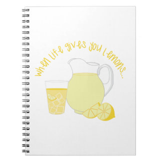 When Life Gives You Lemons... Spiral Notebooks