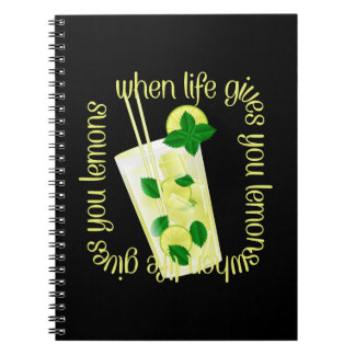 When Life Gives You Lemons Notebook